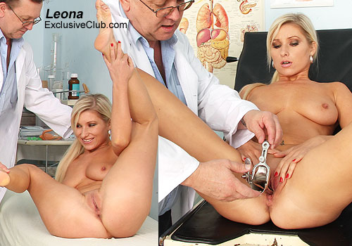 Horny nurses stretch patient hole - 3 part 1